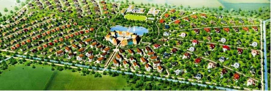 Схема план ЖК Немецкая деревня Краснодар